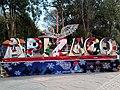 Rótulo navideño de Apizaco, Tlaxcala.jpg