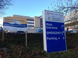 Royal Columbian Hospital - Government sign commits to future redevelopment at RCH