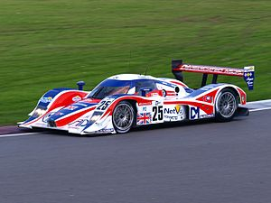 RML Group - RML's former entry in the Le Mans Series, the MG-Lola EX265C Le Mans Prototype