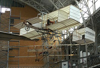 Pierre de Caters - Replica in the Royal Military Museum (Brussels) of the Voisin de Caters IV