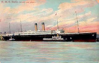 passenger tender of the White Star Line