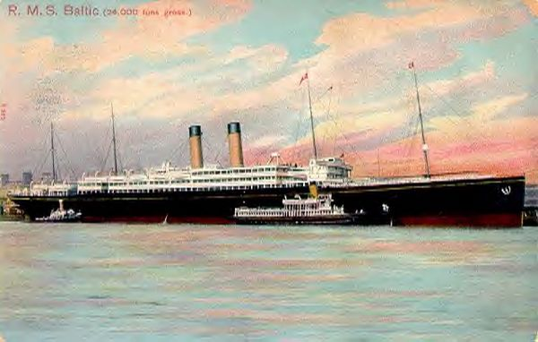 Baltic (1), White Star Line