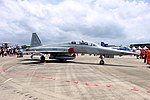 ROCAF F-5F 5402 Display at Gangshan Air Force Base Apron 20170812a.jpg