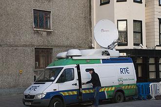Raidió Teilifís Éireann - An RTÉ satellite van
