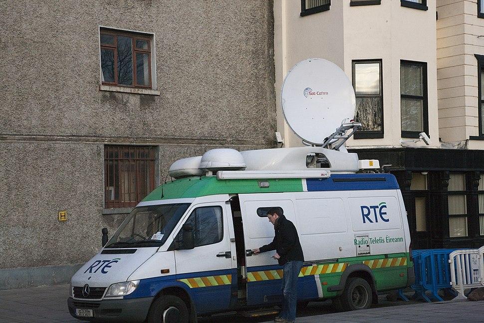 RTÉ Outside Broadcast Unit December 2009 2