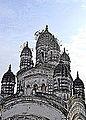 Radhabinode's 'nabaratna' Temple,Tollygunge 1.JPG