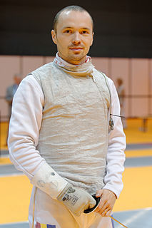 Radu Dărăban Romanian fencer