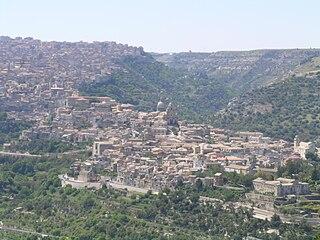 Panorama di Ragusa