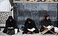 Ramadan 1439 AH, Qur'an reading at Goharshad Mosque, Mashhad - 29 May 2018 12.jpg