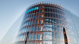 Ramboll - Photo of Ramboll's head office, in Ørestad, Copenhagen, Denmark