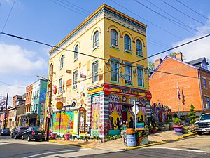 Central Northside (Pittsburgh) - Image: Randyland