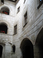 Rappottenstein Castle Courtyard