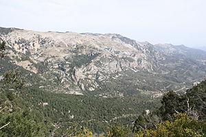 Serra de l'Espina - Image: Rases del Maraco
