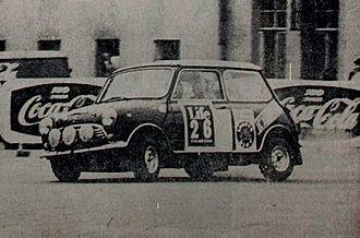 Rauno Aaltonen - Image: Rauno Aaltonen 1965 Rally Finland