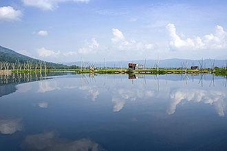 Lake Rawa Pening - Rawa Pening in 2008