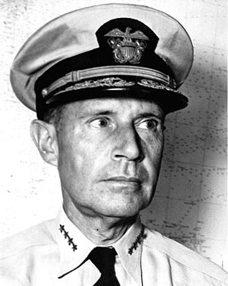 Battle of Saipan - Vice Adm. Raymond A. Spruance