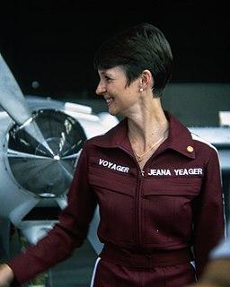 Jeana Yeager American aviator (b. 1952)