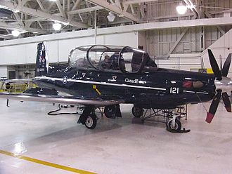 CFB Moose Jaw - Raytheon CT156 Harvard II at CFB Moose Jaw, 3 November 2005