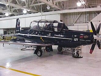 2 Canadian Forces Flying Training School - Image: Raytheon CT156Harvard II156121