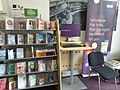 Reception area in Bexhill library (34615692496).jpg