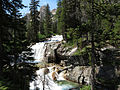 Redfish Lake Creek Waterfall (14872835957).jpg