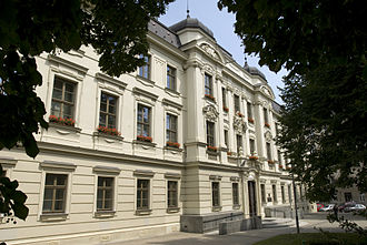Brno University of Technology - Rector's office in Antonínská Street