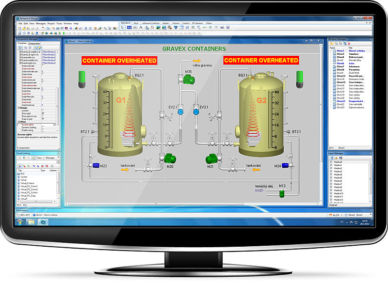 what is scada system scada hardware  software architecture