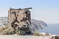 Remains of a windmill at the crater rim near Akrotiri - Santorini - Greece - 06.jpg