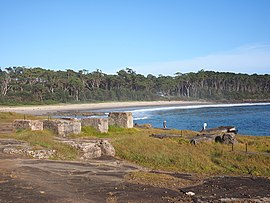 Remains of the Bawley Point Sawmill and Bawley Point Wharf February 2015.jpg