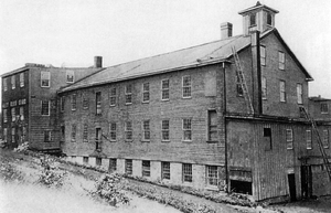 E. Remington and Sons - Remington factory circa 1840