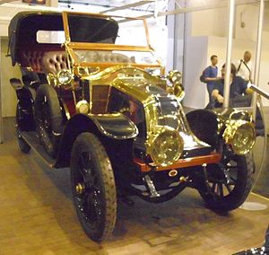 Brewster & Co. - 1909 double-phaeton on a Renault Type V1 chassis