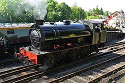 Repulse at Haverthwaite railway station (6584).jpg