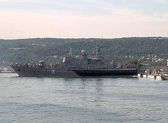Bulgarian Navy - Project 1241.2E (Pauk-class) corvette Reshitelni