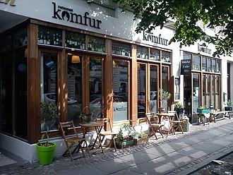 Latinerkvarteret, Aarhus - Image: Restaurant Komfur