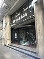 Restaurant Le Garage en bas de l'immeuble de l'ancien garage Atlas à Lyon.JPG