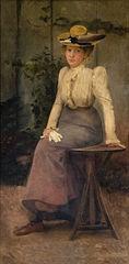 Retrat d'una dama