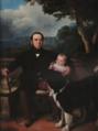 Retrato de José Máximo Coelho Falcão, e criança (1842) - Auguste Roquemont (Colecção Família Lobo de Vasconcellos).png