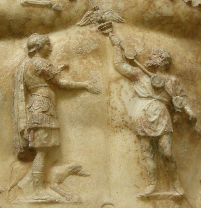Return of the Roman military standards