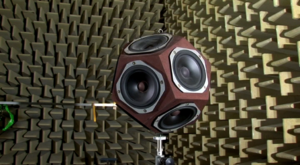 Acoustics - Artificial omni-directional sound source in an anechoic chamber