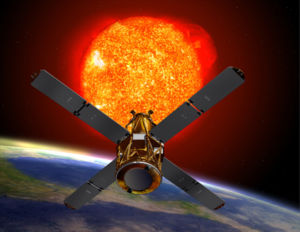 Reuven Ramaty High Energy Solar Spectroscopic Imager - RHESSI observing the Sun