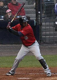 Richmond Flying Squirrels vs. New Britian Rock Cats (Opening night) (8621202220) (cropped).jpg