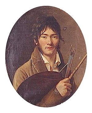 Henri-François Riesener - Self portrait