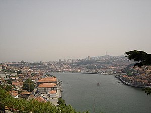 Grande Porto - Douro River at Grande Porto, Portugal's second most populated subregion