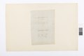 Ritning gångjärn, Hallwylska palatset - Hallwylska museet - 101079.tif