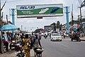 Road advert sign at Bugando Road.jpg