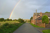 Road and house at Catterlen - geograph.org.uk - 996446.jpg