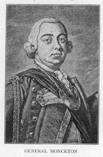 Robert Rogers (soldier) - Robert Monckton was Rogers' superior officer during the western campaign.