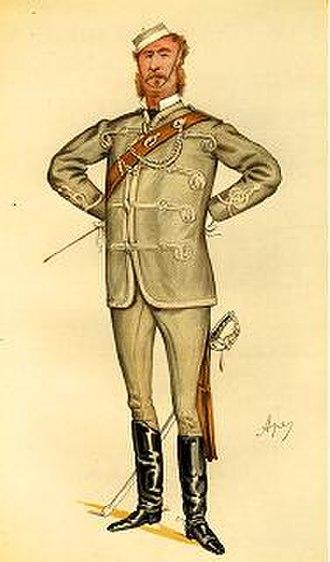 """Robert William Edis - """"Architecture Militant"""": caricature of R W Edis by """"Spy"""""""