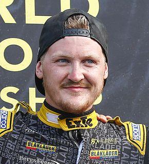 Robin Larsson Swedish racing driver