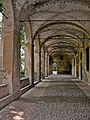 Rocca di San Secondo Parmense - Porticato nel cortile interno.jpg